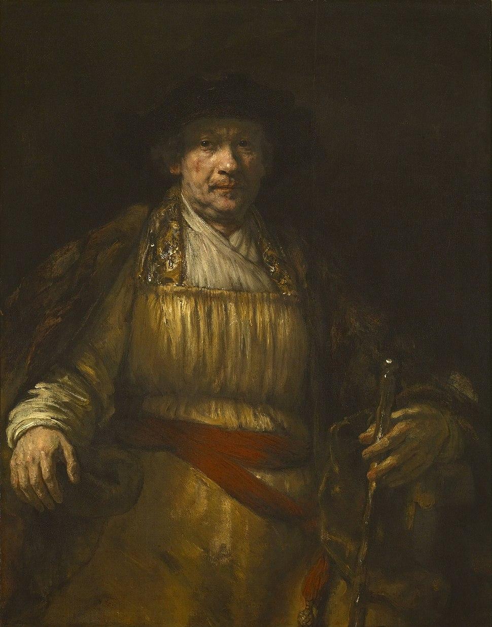 Rembrandt - Zelfportret - Google Art Project