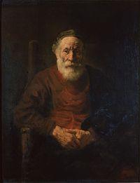 Rembrandt Harmensz. van Rijn - Portrait of an Old Man in Red.jpg