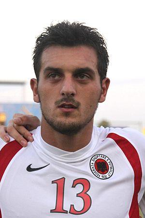 Renato Malota - Malota with Albania U–21