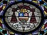 Rennes (35) Basilique Notre-Dame-de-Bonne-Nouvelle Armes de Charles-Philippe Place.jpg