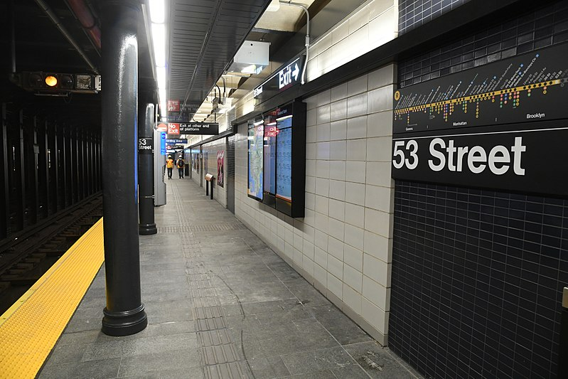 File:Reopening of 53rd St ESI Station (36918280046).jpg