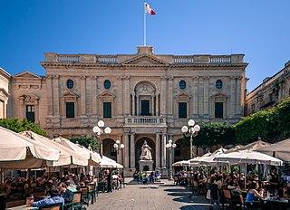 Republic Square, Valletta square in Valletta, Malta