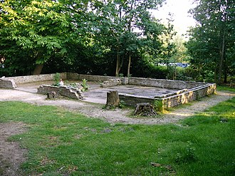 Amersfoort concentration camp - Ruins of the mortuary