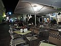 Restaurant terrace in Klagenfurt at night.jpg