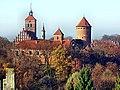 Reszel-widok na zabytkowy kościół i zamek 2011-11-05 - panoramio.jpg