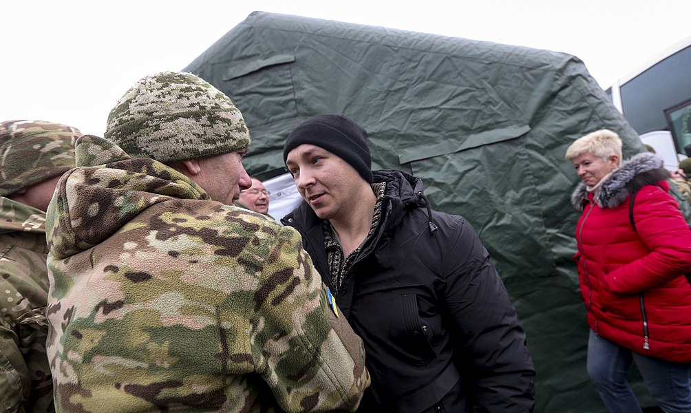 Return of liberated citizens to the territory controlled by Ukraine (2019-12-29) 042.jpg