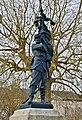 Ribérac 24 Monument de Nattes statue 2014.jpg