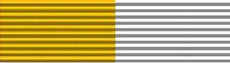 Ai-Ai delas Alas - Image: Ribbon.Crossproeccle siaetpontifice