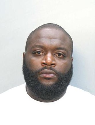 Rick Ross - Mug shot of Ross, 2008