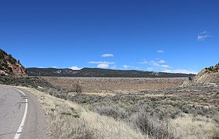 Rifle Gap Dam dam in Garfield County, Colorado