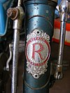 Rival cycle head badge, Norwich England. EATM, Carlton Colville..jpg