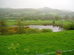 English: River Dee. The river Dee near Llandderfel