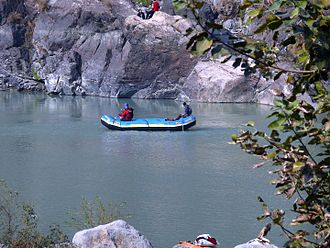 Rishikesh - River rafting at Rishikesh