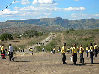 Nkandla Local Municipality - Road in Nkandla Local Municipality