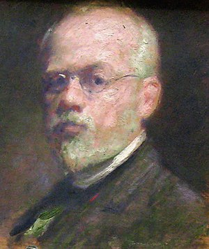 Robert Harris (painter) - Self-portrait (1908)
