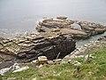 Rocks on the west coast of Westray - geograph.org.uk - 181602.jpg