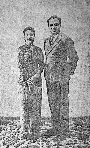 Roekiah - Roekiah with her husband Kartolo
