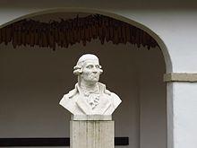 Haydn-Büste in seinem Geburtshaus in Rohrau (Quelle: Wikimedia)