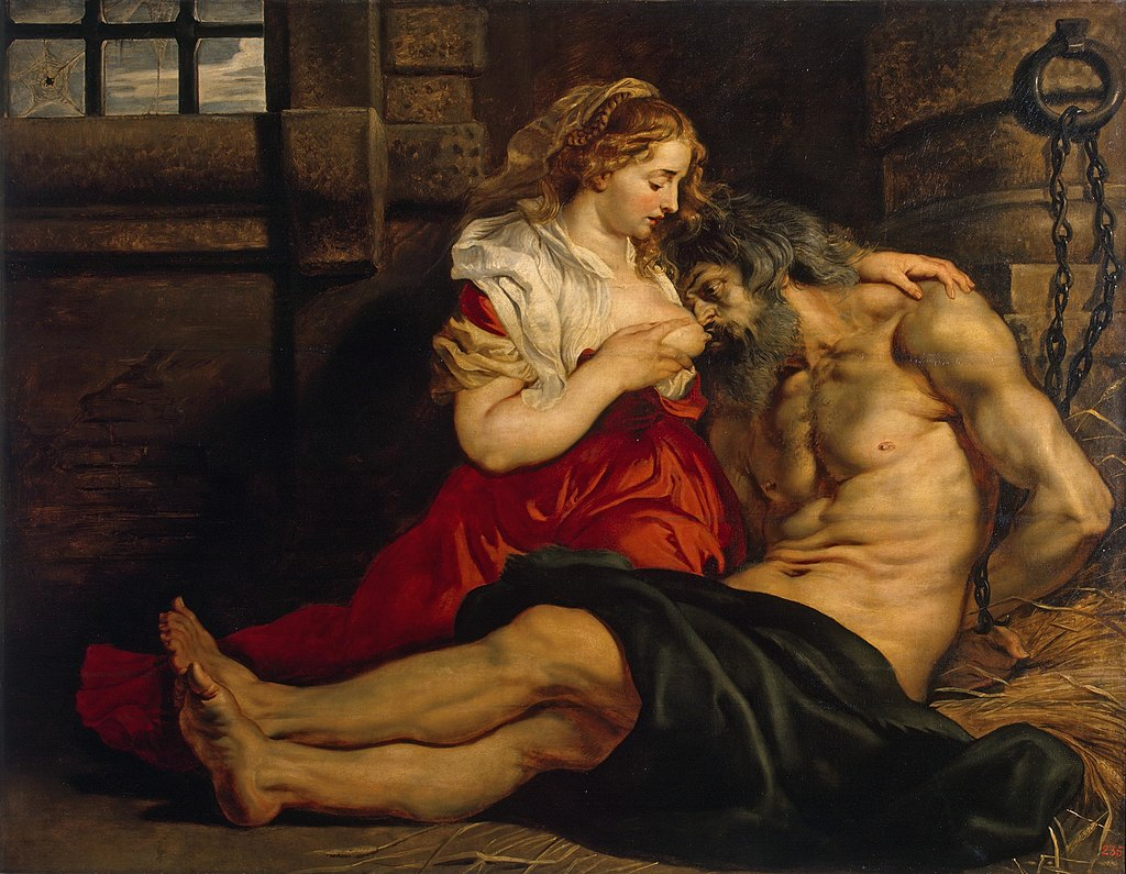 Roman Charity - Pieter Pauwel Reubens