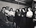 Ronald Reagan visiting a General Electric plant in Danville, Illinois.jpg