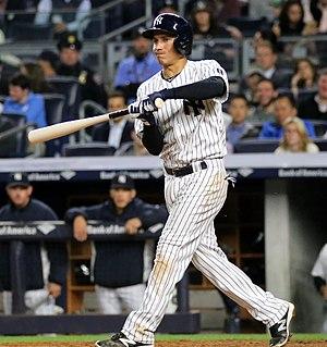 Ronald Torreyes - Torreyes batting for the New York Yankees in 2016