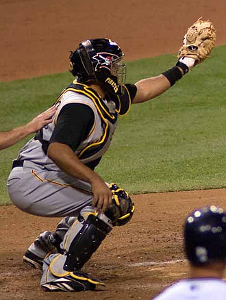 Ronny Paulino - Paulino with the Pittsburgh Pirates in 2007