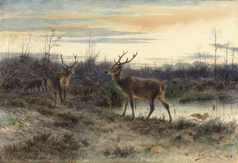File:Rosa Bonheur - Cerfs dans la forêt de Fontainebleau.jpg