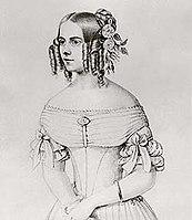 Rosalie Gräfin von Hohenau, geborene von Rauch – zweite, morganatische Ehefrau Albrechts (Quelle: Wikimedia)