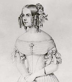 Rosalie von Rauch - Rosalie, Countess of Hohenau, born von Rauch.