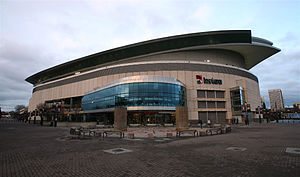 Moda Center - An exterior shot of the arena