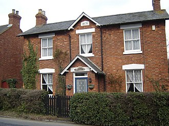 Shenley Church End - Image: Rose Cottage geograph.org.uk 404825