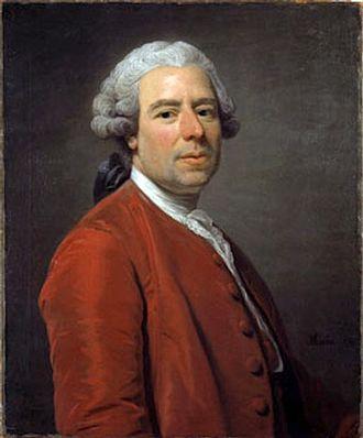 Johan Pasch - Johan Pasch, portrait by Alexander Roslin (1756)