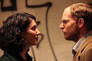 The Exchange (film) - Rotem Keinan and Sharon Tal