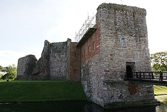 Isle of Bute - Rothesay Castle