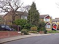Rowanwood Mews from Rowantree Road, Enfield - geograph.org.uk - 384999.jpg