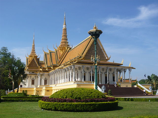 Phnom Penh Royal Throne Hall