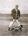 Rube Waddell, pitcher for the St. Louis Browns with team mascot.jpg