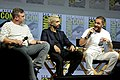 Ruben Fleischer, Riz Ahmed & Tom Hardy (42774753905).jpg