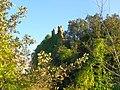 Ruderi castello dei De Vico (necropoli etrusca di Norchia) - panoramio.jpg