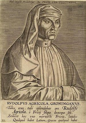 Rodolphus Agricola - Image: Rudolf Agricola 2