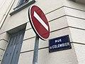 Rue du Colombier (Lyon) - plaque de rue.JPG