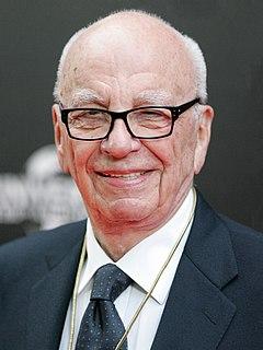 Rupert Murdoch Australian-born American media mogul