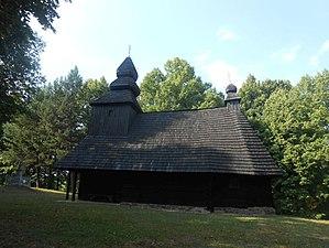 Ruská Bystrá - Image: Ruska Bystra wooden church