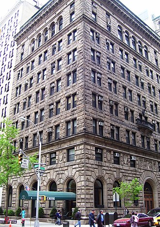 Russell Sage Foundation - The former headquarters of the Russell Sage Foundation on Lexington Avenue in Manhattan, New York City