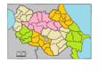 Russian Empire provinces governorates caucasus transcaucasus districts coloured.png