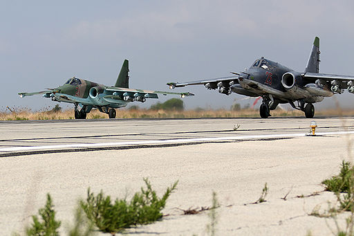 Russian Sukhoi Su-25 at Latakia (2)