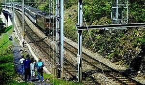 Rails with trails - Rail with trail, Switzerland