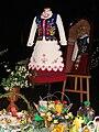 Rzeszowski strój ludowy XIV Wystawa Wielkanocna wójta Gminy Sanok.JPG