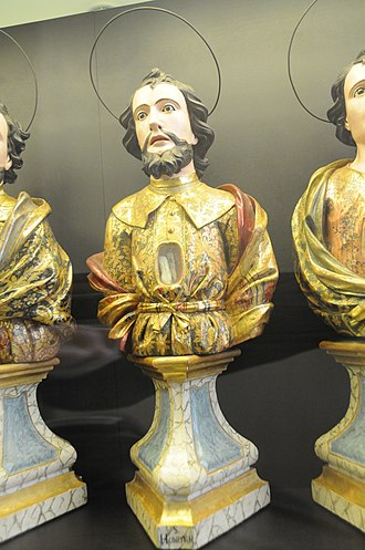 Saint Honestus - Image: São Honesto de Pamplona