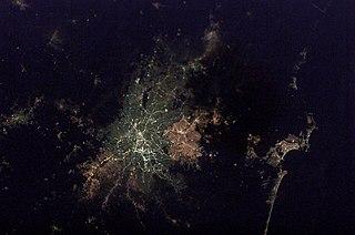 Greater São Paulo large metropolitan area located in the São Paulo state in Brazil